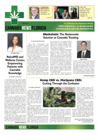 cannabis news florida, March 2019